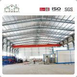 China-Lieferant galvanisierte vorfabriziertstahlkonstruktion-Werkstatt und Lager