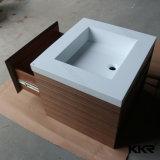 Kingkonree feste Oberflächensteinbadezimmer-Eitelkeits-Marmorierungoberseite