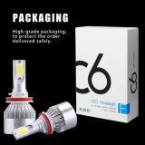 Commerce de gros d'usine 6500K 7200lm C6 S/N 360 Projecteur à LED de lumière