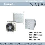 Nuevo ventilador axial de plástico con el filtro con un gran caudal de aire (FK5528)