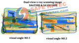Cofre HI-TEC Dual-visualize o controle de bagagem de raios X Dispositivo Scanner SA6550D