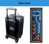 Temeisheng/Kvg/Amaz Trolley altavoz con micrófono inalámbrico Bluetooth y un buen amplificador para Karaoke/Party 8 pulg.