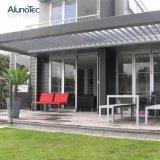 Nuances en aluminium imperméables à l'eau réglables de Sun de Pergola de jardin pour le balcon