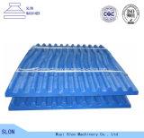 Après le marché fixe/oscillation/plaque mobile de maxillaire des pièces de broyeur de maxillaire de Pegson 900X600