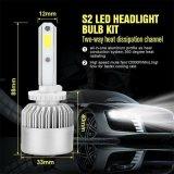 Koplamp S2 880 881 Csp 8000lm 72W het LEIDENE Licht van de Auto