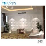 Panneau décoratif intérieur de l'absorption 3D saine de fibre de polyester de Retartant de flamme pour la pièce/studio de piano