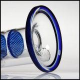 Triple Glassbongs Honeycomb narguilé verre tube droit de fumer pipe à eau