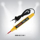 détecteur de la tension 90-1000V avec le signaleur et le signe de DEL