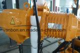 ручной тип электрическая таль с цепью вагонетки 1.5ton