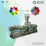 PP/PE doble tornillo Masterbatch de color que hace la máquina