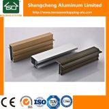 Bon profil extérieur d'aluminium de porte d'obturateur de rouleau de profil d'extrusion de guichet en aluminium de qualité