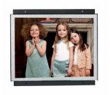 A caixa Frameless do metal écran sensível de 12.1 polegadas e Não-Toca no monitor do frame aberto