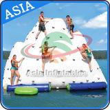 Giocattoli gonfiabili dell'acqua dell'iceberg di nuovo stile, iceberg di galleggiamento del raggruppamento gonfiabile chiuso ermeticamente per gli adulti e capretti