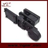 Terno tático do Holster da correia da pistola de Ipsc da caça de Airsoft para a direita e a mão esquerda