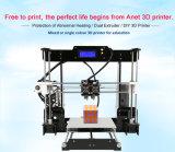Anet A8-M High-Precision 급속한 시제품 Fdm 탁상용 3D 인쇄 기계