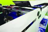 Máquina de capa total de Full Auto para el petróleo del Tactility con la unidad de limpieza del polvo (XJVE-1450)