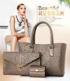 Bw-2059 новейших Fashion оптовой комплект из 3 с 4 цветами крокодил женщин женская сумка с образом дамской сумочке