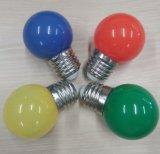 El nuevo diseño 1W de Ctorch adornó el bulbo de la bombilla E27 LED del color del LED