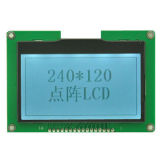 240X120 écran LCD graphique, module blanc d'écran LCD de contre-jour