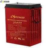 tiefe Gel-Batterie der Schleife-6V310ah für Sonnenenergie-Speicher-/Golf-Karre
