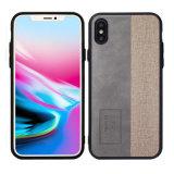 2018 горячая продажа оптовой моды PC кожаный футляр для сотового телефона iPhone X
