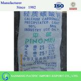 Углекислый кальций тавра 98% Pingmei осажденный минутой