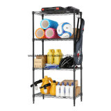 Small 4 Third parties Wire Shelving Home Cellar Storage Rack Garage Laundry Organization