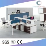حديث [أبن را] خشبيّة طاولة 4 أشخاص مكتب مركز عمل