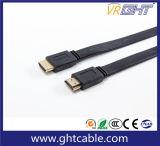 3m Vlakke HDMI Kabel de Van uitstekende kwaliteit 1.4V 2.0V (F023)
