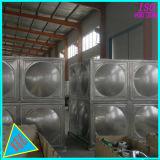Aço inoxidável soldada do tanque de armazenagem de água quente