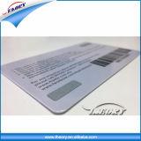 4 L'impression couleur carte VIP d'adhésion en plastique avec code à barres