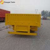 Camion de remorque de cargaison de remorque de cargaison de 3 essieux et remorque de cadre