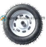 3.50-10 roda de borracha de Pneu Barrow roda plástica