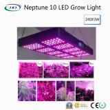 Neptuno LED de alto rendimiento 10 crece la luz para el crecimiento del sistema hidropónico