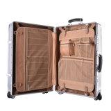 """20/24/28 """" 수화물 Tsa 자물쇠 알루미늄 PC 단단한 쉘 여행 가방 은"""