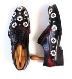 Китай оптовая торговля из натуральной кожи для голени Custom мужчин платья Brogue обувь