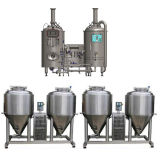 модульное оборудование пива комбинации оборудования Factorybeer пива 500L