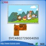 """5"""" TFT en color, 480x272 puntos Pantalla LCD del módulo de LCM4802729004050 Syc con CI Ili6482b"""