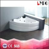 Vasca da bagno acrilica moderna di vendita calda K-8801 della Jacuzzi della vasca di massaggio del bagno del mulinello