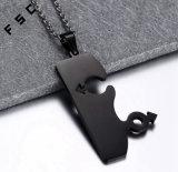 Homosexuelle Mens-Schmucksache-eindeutige Paar-Edelstahl-Halskette