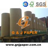 Papel de la buena calidad 65GSM 72inch Woodfree en el rodillo para la impresión