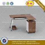 Meubles de bureau de mélamine de Tableau exécutif de bureau de patte en métal (HX-8NE001)