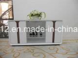 Soporte del LED TV con 2 cajones en alta unidad de pared del lustre (DS-190)
