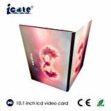 Цифров очень красивейшего карточка 10.1 экрана LCD дюйма видео-, видео- брошюра