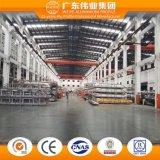 Porta de vidro de deslizamento pesada da série do fabricante Wtlm125 da fábrica da parte superior dez de China