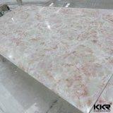 Панель акрилового твердого поверхностного образца камня Faux искусственная мраморный