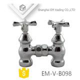 Válvula de ângulo de latão forjado galvanizado para Waterget Última Preço (EM-V-B098)
