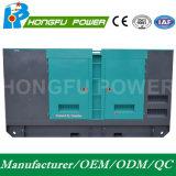 572KW 715kVA Cummins Power Generador Diesel con habitaciones insonorizadas con refrigeración por agua