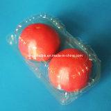 Imballaggio di plastica della frutta dell'animale domestico delle 2 di PCS coperture superiori del pomodoro