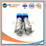 HRC45-70堅い金属のための固体炭化物の端製造所